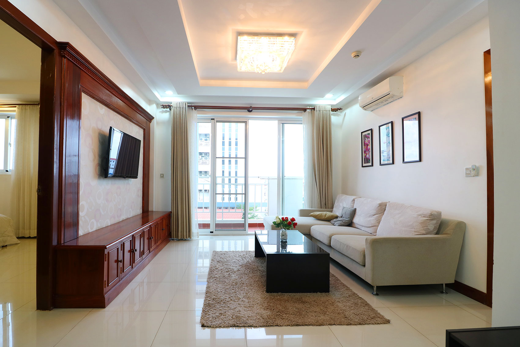 Serviced Apartment with Gym